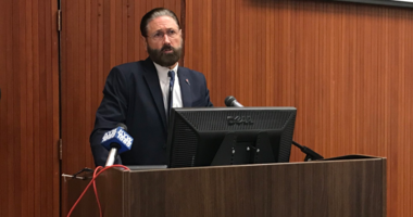 Judge Steven O'Neill said putting someone with opioid addiction behind bars may offer short-term safety to the community, but the person will not get the treatment they need.