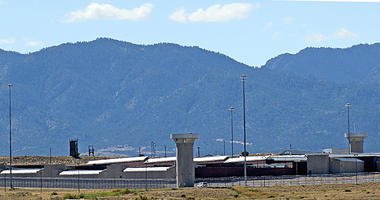 """This Oct. 7, 2014, file photo shows """"Supermax,"""" US Penitentiary, Administrative Maximum Security facility, near Florence, Colo."""