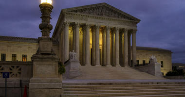 In this Oct. 5, 2018, file photo, the U. S. Supreme Court building stands quietly before dawn in Washington.