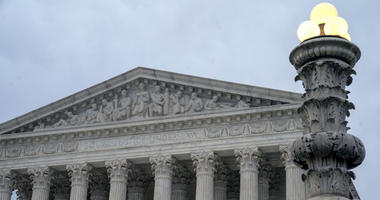 In this Jan. 7, 2019 photo, the Supreme Court is seen in Washington, D.C.