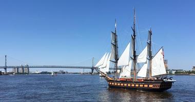 tall ships parade of sail 2018
