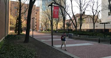 Temple University campus.
