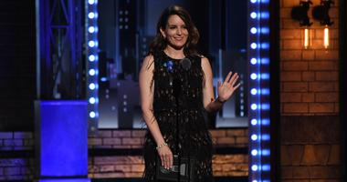 Tina Fey presents the award for Leading Actor in a Musical at the 71st TONY Awards.