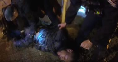 Trenton Police Department body cam video of arrest of Chanzie Washington.