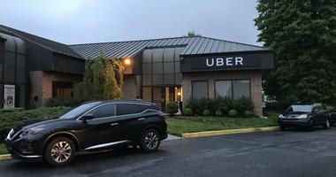 Philadelphias Uber hub near PHL airport