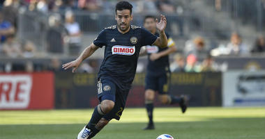 Philadelphia Union midfielder Ilsinho
