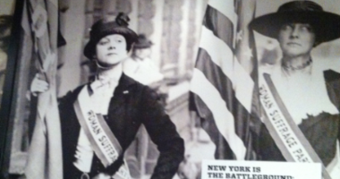 Museum Suffrage Poster