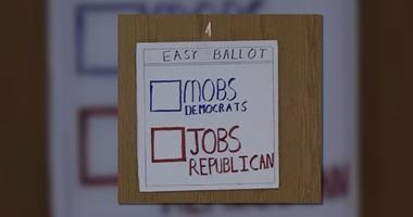 Kecia Lee took a photo of the sign. Committee members at the polling place responded to her question as to why it was there with shrugs and smirks.