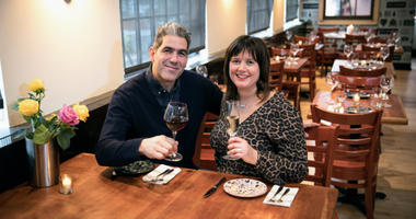 Paul Rodriguez and Bridget Foy have opened a new restaurant called Cry Baby Pasta at Third and Bainbridge streets.