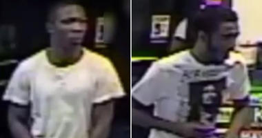 Gas station arson suspects