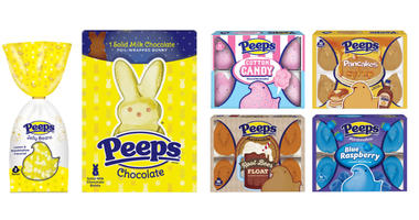 Peeps released its 2019 Easter collection, debuting new flavors of its signature bunnies and chicks, plus other sweets.