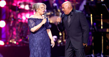 Patti Austin (left) and James Ingram