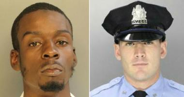 Jerome Hill and Officer Paul Sulock