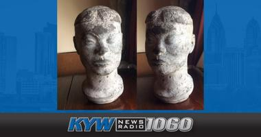 The unfinished bust of a Sudanese woman by early 20th-century artist Nathaniel Choate disappeared from an apartment in Cherry Hill in November 2018.