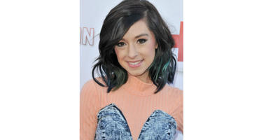 Singer Christina Grimmie arrives at TUBEATHON held at the iHeartRadio Theater in Burbank, CA on Wednesday, April 20, 2016