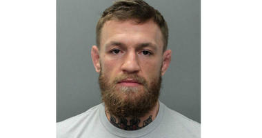 This photo provided by the Miami-Dade Corrections and Rehabilitation Department shows Conor McGregor.