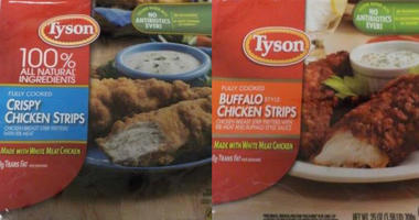 Tyson Foods is recalling chicken strips that may contain metal.
