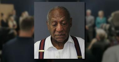 Bill Cosby's mugshot after he was sentenced to three to 10 years in state prison.