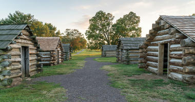 Cabins at Valley Forge National Park
