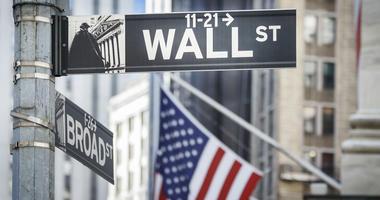 Wall Street in New York