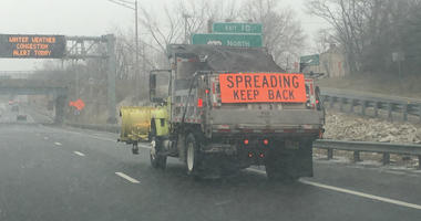 Winter weather congestion alert in South Jersey