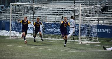 West Chester University senior forward Jason Pixley (#23)