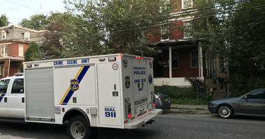At this house, in the Wissinoming section of Philadelphia, a woman was shot and killed.