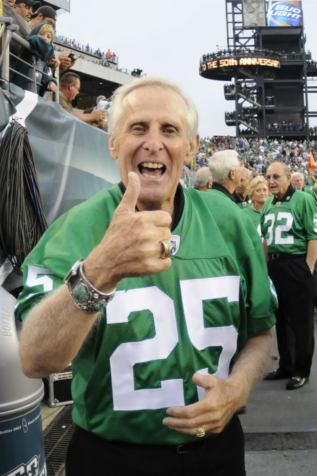check out 66b3a d02dd Public viewing Friday for Eagles legend Tommy McDonald in ...