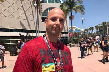 Man at Comic-Con