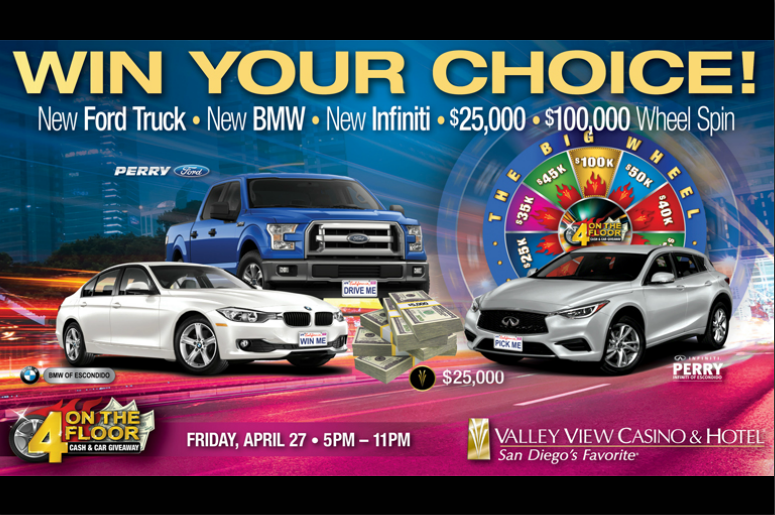 How To Win A Car >> Win Your Choice A New Truck 2 New Cars 25 000 Or Spin