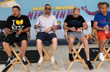 Impractical Jokers at Comic-Con San Diego Petco Park
