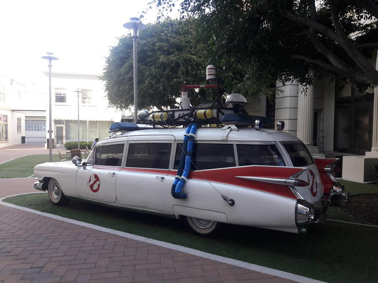 original ghostbuster car