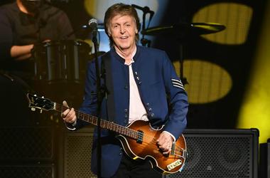 Paul McCartney performs in 2017