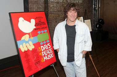 Woodstock Music Festival co-producer Michael Lang attends a celebration of the 40th Anniversary of Woodstock