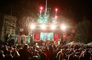 Boston Common Tree Lighting