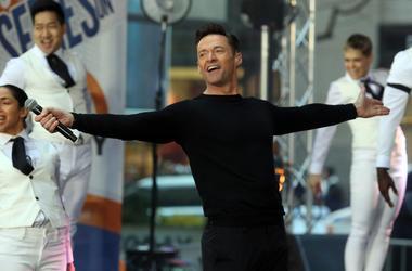 "Hugh Jackman Performs on NBC's ""Today"" Rockefeller Center, New York"