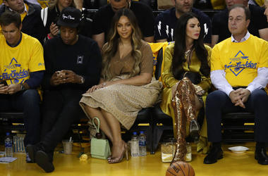 Beyonce Meme Face at NBA Finals 2019.jpg