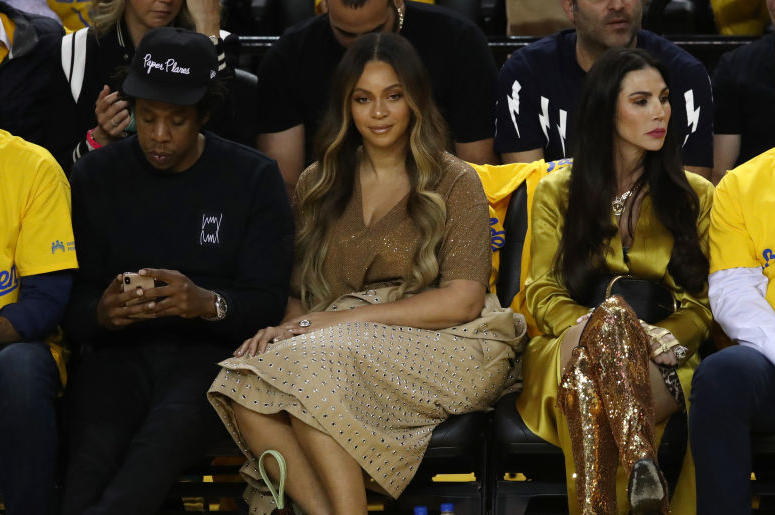 Beyonce Meme Face at NBA Finals 2019.jpg