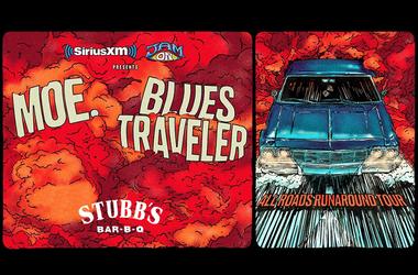 Blues Traveler and moe.