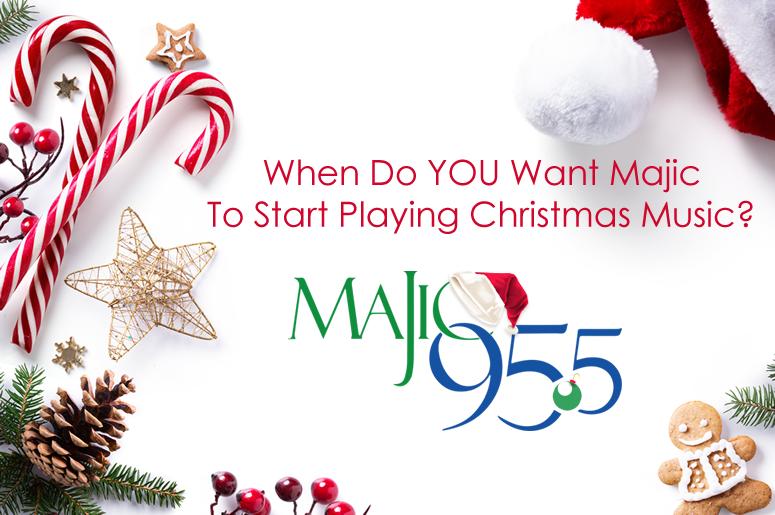 The Majic Christmas Music Poll