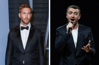 Calvin Harris walking on the red carpet at the 2018 Vanity Fair Oscar Party hosted by Radhika Jones held at the Wallis Annenberg Center for the Performing Arts in Beverly Hills on March 4, 2018. / July 14, 2018; Miami, FL, USA; Recording artist Sam Smith
