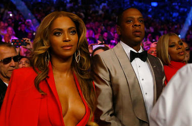 Both JAY-Z and Beyonce were honored at last night's NAACP Image Awards