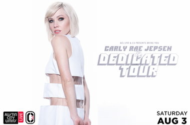 Carly Rae Jepsen - The Dedicated Tour - ACL Live