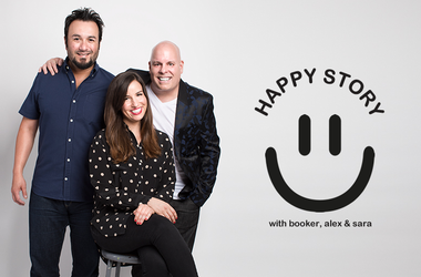 Happy Story with Booker, Alex and Sara on Mix 94.7