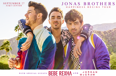Jonas Brothers Happiness Begins Tour AT&T Center