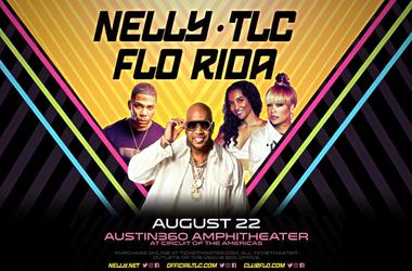 Nelly TLC Flo Rida Austin360 Amphitheater