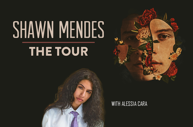 Shawn Mendes Tour with Alessia Cara