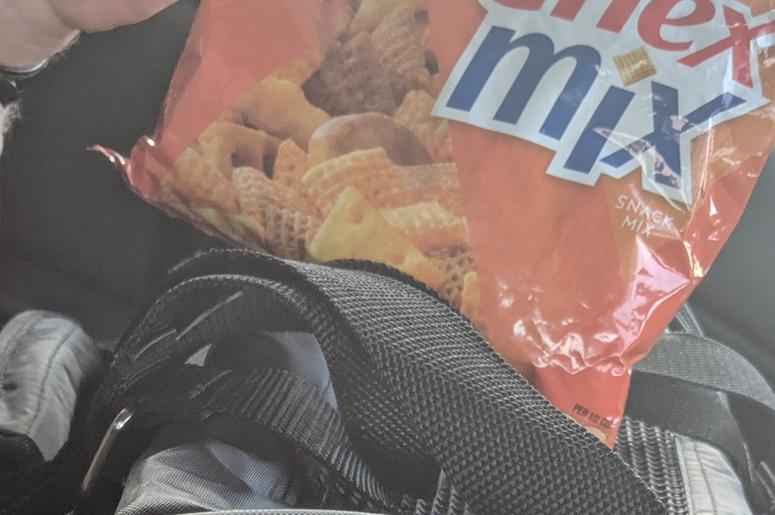 Big win with Cheddar Cheese Chex Mix