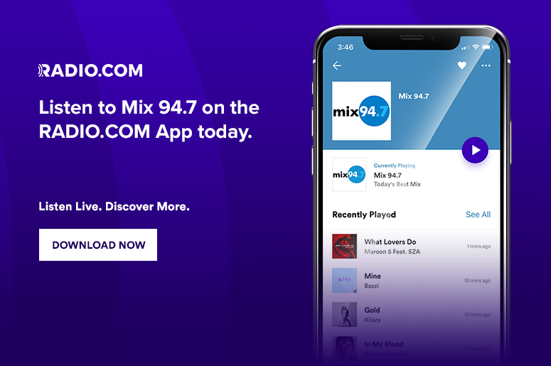 Mix 94.7 on the RADIO.COM App