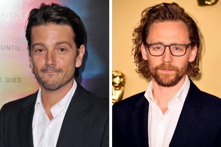 Diego Luna and Tom Hiddleston